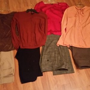 Lot of ladies clothing